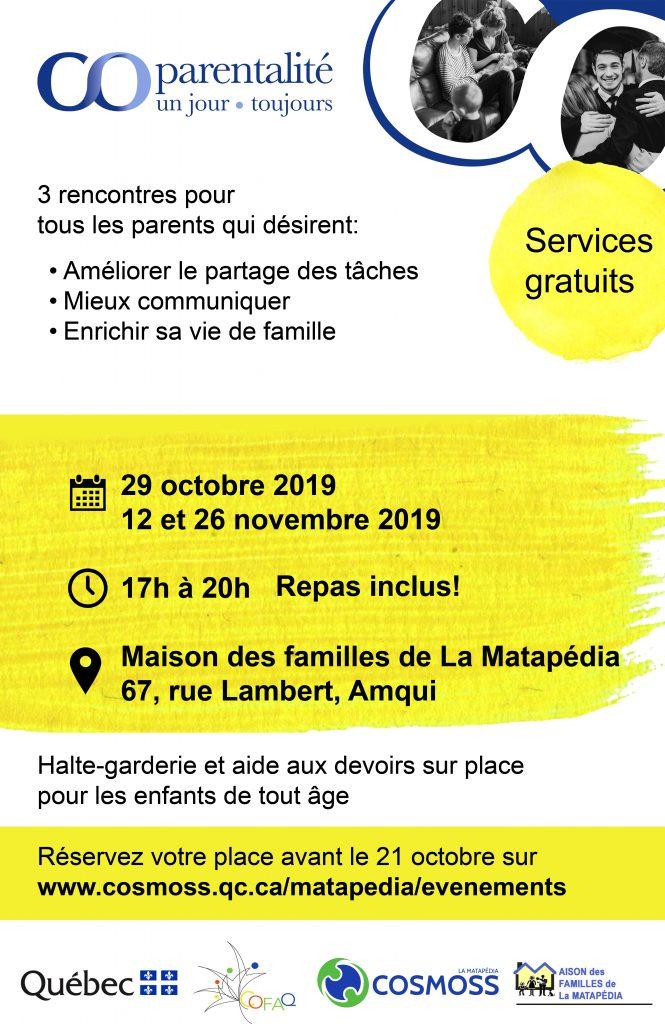 Bas-Saint-Laurent-AMQUI-1ère partie @ Maison des familles de la Matapédia | Amqui | Québec | Canada