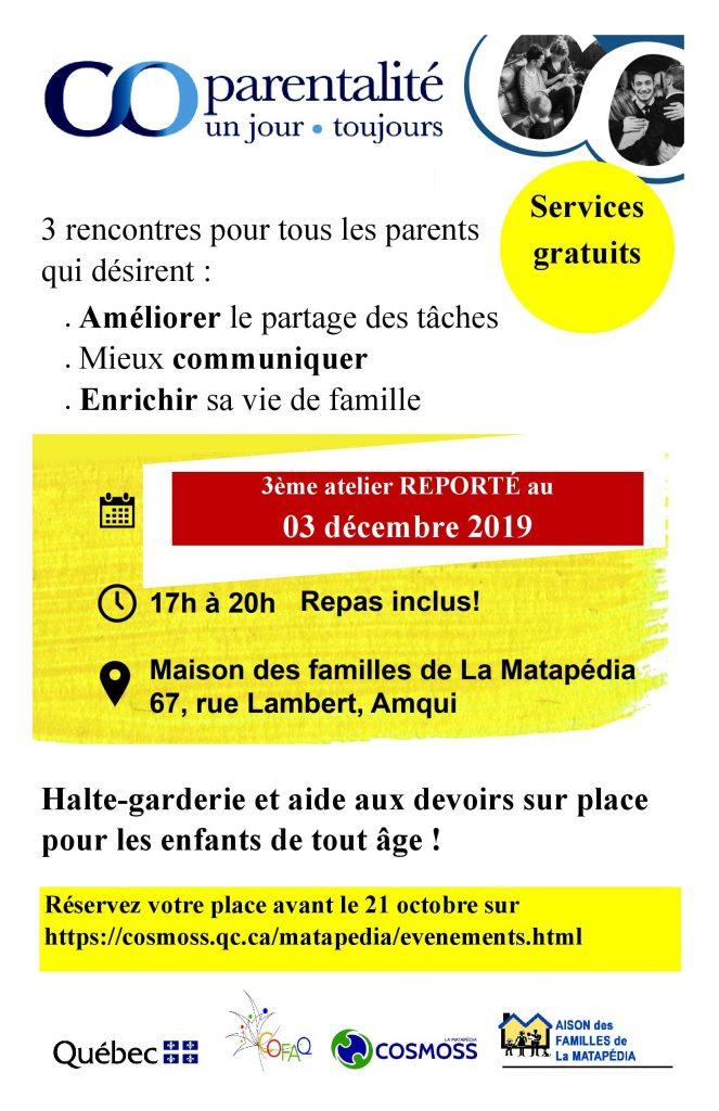 Bas-Saint-Laurent-AMQUI-3ème partie @ Maison des familles de la Matapédia | Amqui | Québec | Canada